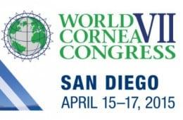 Immagine del logo del Congresso Mondiale sulle malattie della Cornea San Diego 2015
